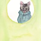 Hoodie Cat by soapyburps