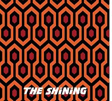 The Shining rug pattern  by Eric  loya