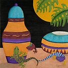 Jars of Geckos by Judy Newcomb