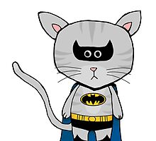 Batman DC - Gizmo The Cat by LJefferis78
