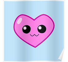 Smiling Heart Poster