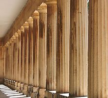 Ancient Colonnade by aurielaki