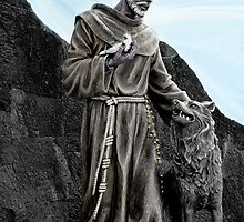 St Francis Of Assisi On Isabela In The Galapagos by Al Bourassa