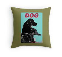 Dog Pillow Throw Pillow