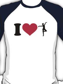 I love Ballerina dancing T-Shirt