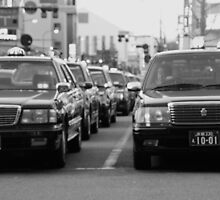 Taxi from Kyoto Station by the WORLD in a  FRAME