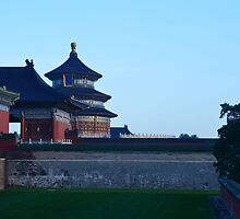 the Temple of Heaven by the WORLD in a  FRAME