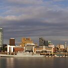 Liverpool Skyline by Chris Tait