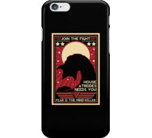 Fear is the Mind-Killer iPhone Case/Skin