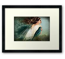 Like a Bird Framed Print