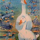 Geese by FrancesArt