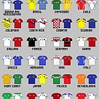 8-Bit World Cup 2014 by AlCreed