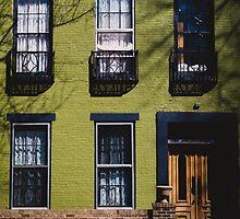 Green Facade. by Lindsay Osborne