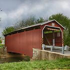 The Landis Covered Bridge by Pat Abbott