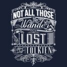 Lost Typography by MiniMoose