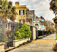 Rainbow Row: Charleston, SC by Kadwell