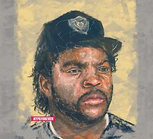 ICE CUBE DIGITAL PORTRAIT by hypeforever