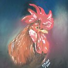 Lucky the Rooster by Michelle Potter