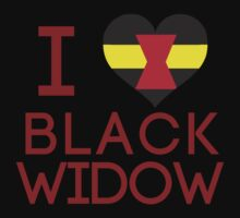 I Heart Black Widow V1 by Arcee Partridge