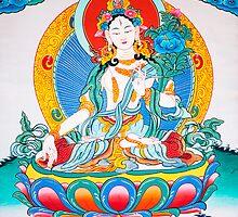 poster of white tara by navaram