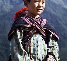 Young boy, Sapa, Vietnam by jennyjones