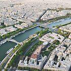 Seine River by lorenzoviolone