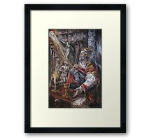 Pope Benedict XIII - Dialogue with God Framed Print