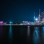 A starlit harbour by Dean Symons