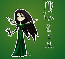 Astrology - Virgo by OddworldArt