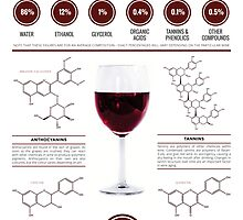 The Key Chemicals in Red Wine by Compound Interest