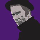 Tom Waits by GarfunkelArt