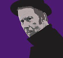 Tom Waits by GarfunkelArt