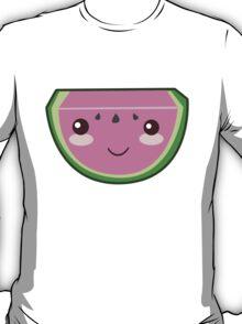 Kawaii Smiling Watermelon T-Shirt