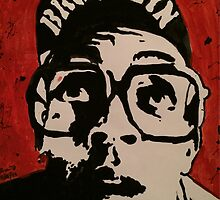 Spike Lee Painting  by Amma Fordjour