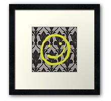Sherlock Smile Framed Print