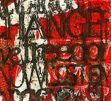 Weathering CHANGE (Monotype) by © Angela L Walker