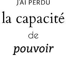 J'ai Perdu Tumblr by schizomuffin