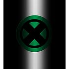 X-Men Logo: Green by LeeAnn Ellison