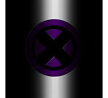 X-Men Logo: Purple by LeeAnn Ellison