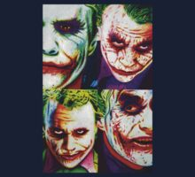 JOKER FOUR PANEL IN SHARPIE MARKER  by JMCSharpieArt