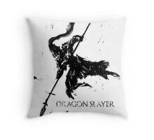 Dragonslayer Ornstein Throw Pillow