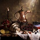 Still Life with Arabian Coffee Pot by Jon Wild