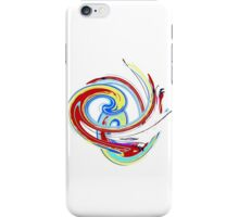 Swirl in Aqua T SHIRT/BABY GROW/STICKER/CASES/COLLECTION iPhone Case/Skin