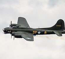 B17 Flying Fortress by J Biggadike