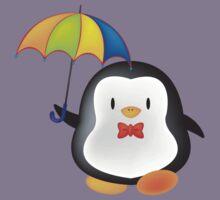 umbrella penguin Kids Clothes