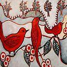 """Sophies Birds by Belinda """"BillyLee"""" NYE (Printmaker)"""