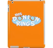 Donion Rings iPad Case/Skin
