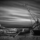 Boat Graveyard by Art Hakker Photography