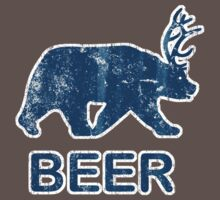 Vintage Beer Bear Deer by medallion