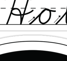A HOLE: NOUN Sticker